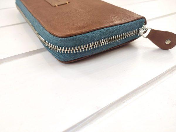 aseismanos large wallet zipper view