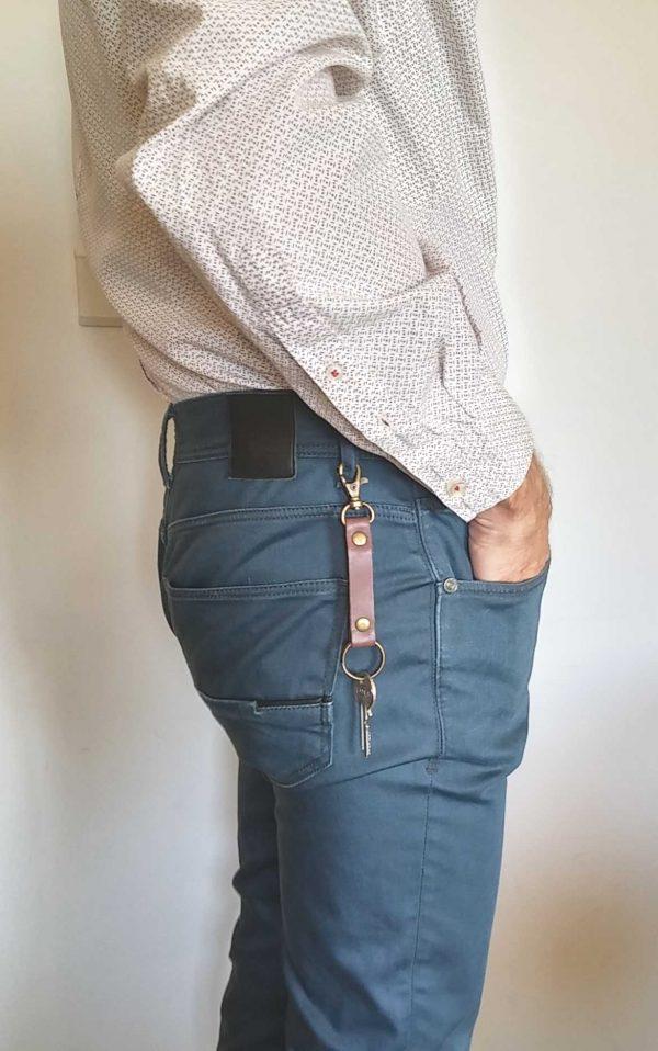 wearing in trousers