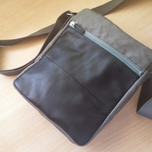 close view of bag