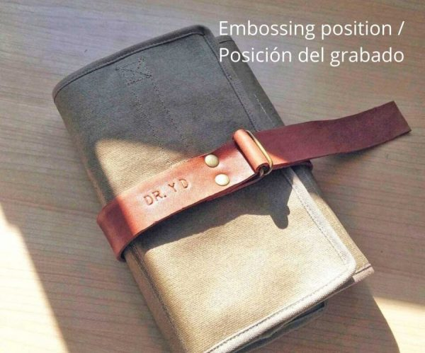 Embossing position
