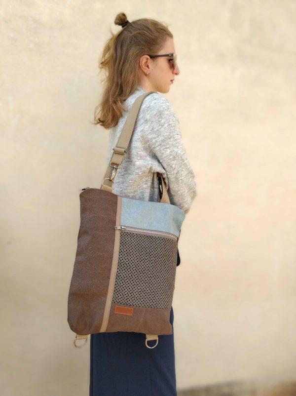 wearing as a bag