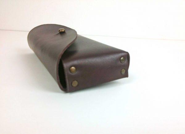 brown sunglasses case