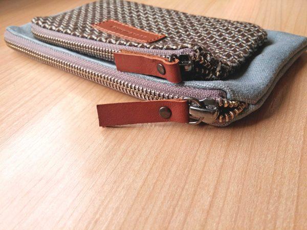 leather zip pulls