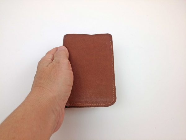 wallet - size in hand