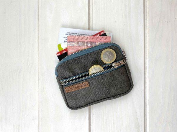 showing wallet capacity