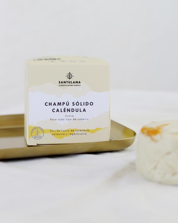 calendula shampoo packaging