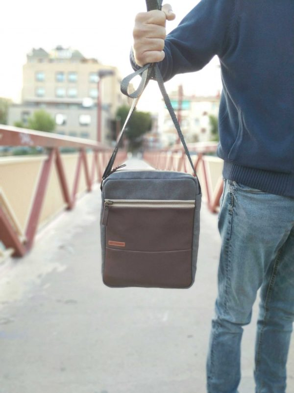 bag held in one hand