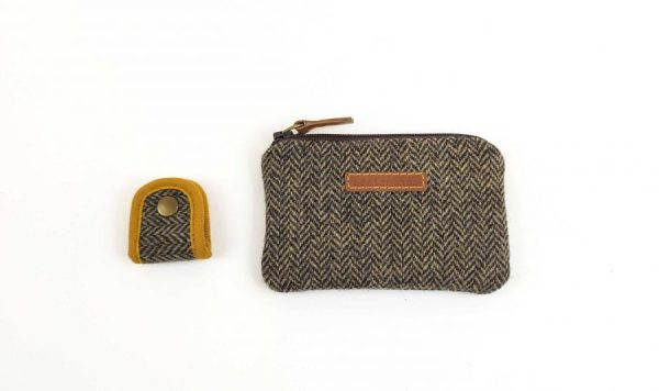 photo showing coin purse and cable holder
