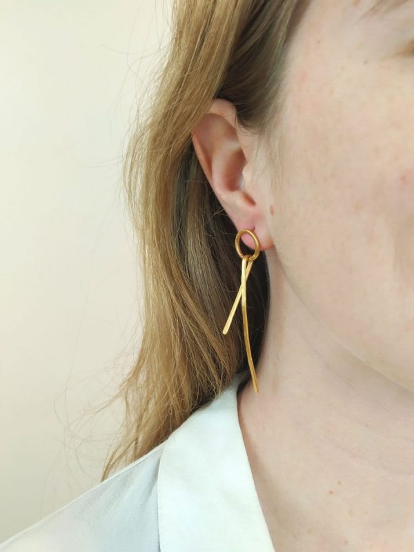 earrings wearing them
