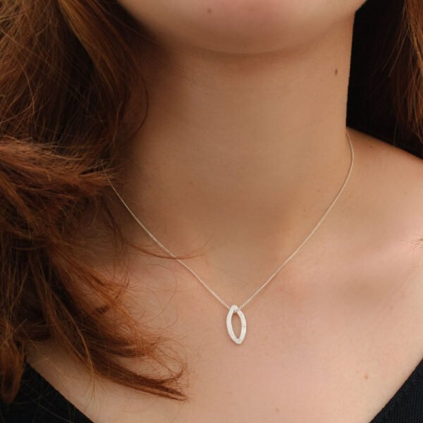 pendant being worn