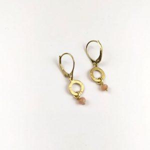 earrings close view