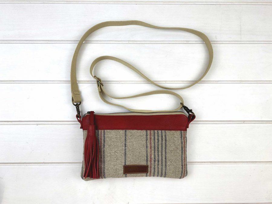 linen bag on a surface