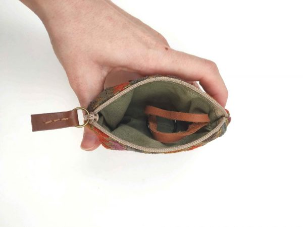 keyring pouch interior