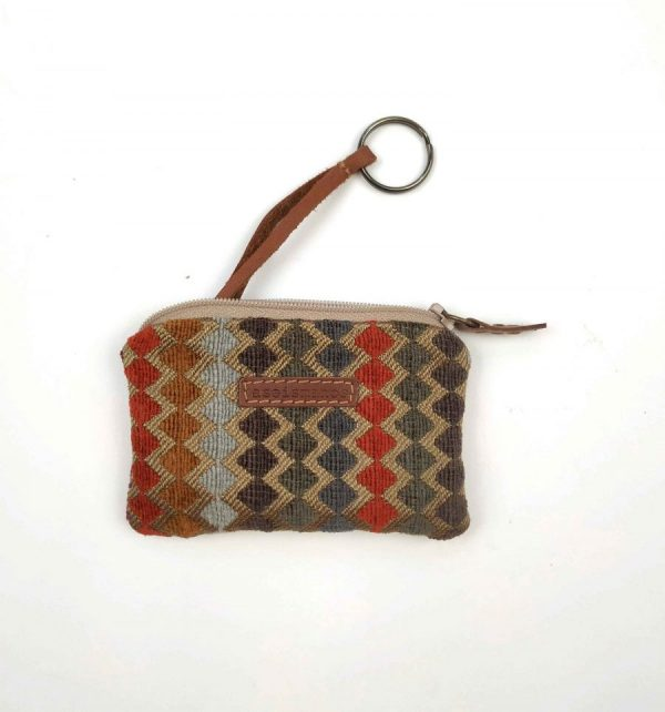 KEYRING POUCH ASEISMANOS FRONT VIEW