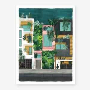 vista edificios calle